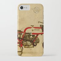ducati iPhone & iPod Cases featuring Ducati 750SS Corsa 1974 by Larsson Stevensem