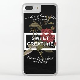 Harry Styles Sweet Creature Clear iPhone Case