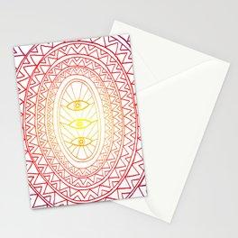 Three Eyes Stationery Cards
