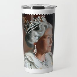 QUEEN ELIZABETH II STAMP Travel Mug