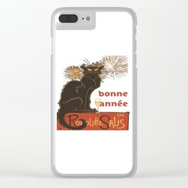 Bonne Annee Happy New Year Parody Clear iPhone Case