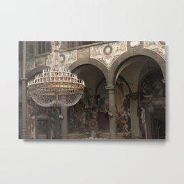The Ballroom - Florence - Tuscany Metal Print