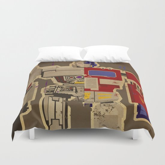 More Than Meets the Eye Duvet Cover
