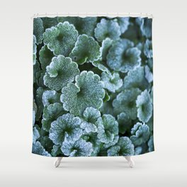 Frosty Reprise Shower Curtain