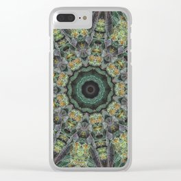 Strawberry Cough Circles Clear iPhone Case