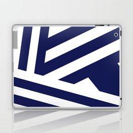Nautical Stripes Laptop & iPad Skin