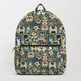 Cats wall of fame Backpack