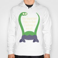 inspirational Hoodies featuring Myth Understood by David Olenick