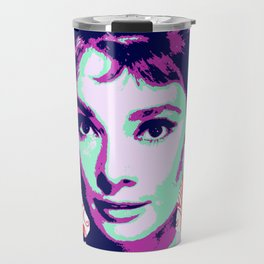 Audrey Hepburn Travel Mug