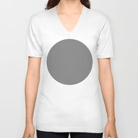 circles V-neck T-shirts featuring Circles by Beyond Infinite