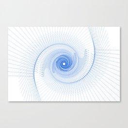 Converging Canvas Print