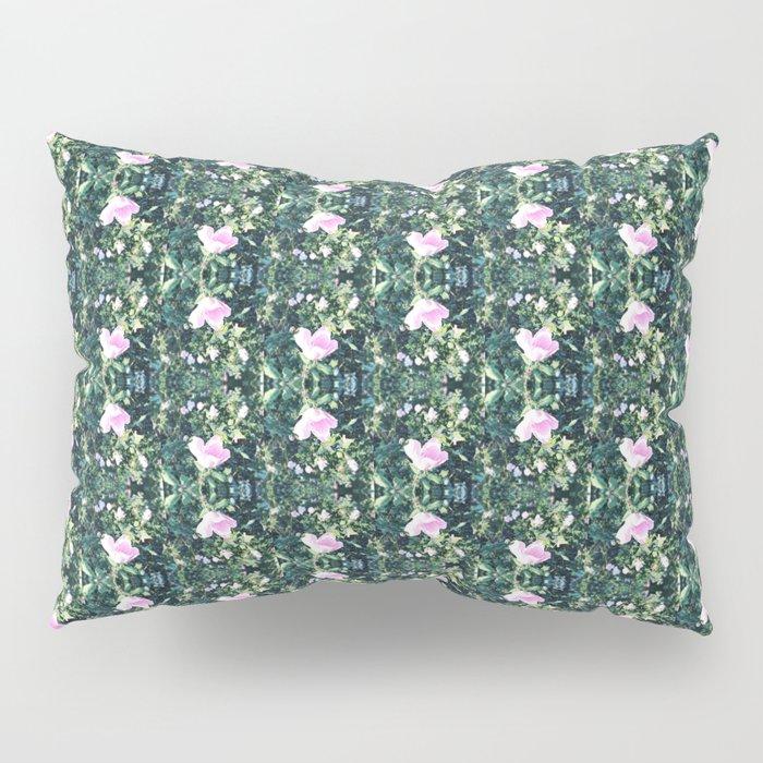 Roses All in a Diamond Row Pillow Sham