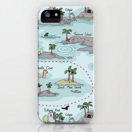 Dangerous waters iPhone Case