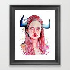The Taurus Framed Art Print