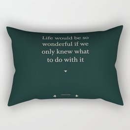 Greta Garbo Rectangular Pillow