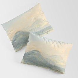 "J.M.W. Turner ""From the Isola Borromena, Lago Maggiore"" Pillow Sham"
