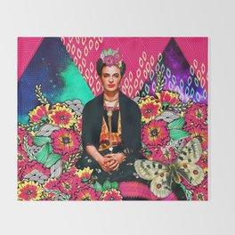 Galaxy Frida Throw Blanket