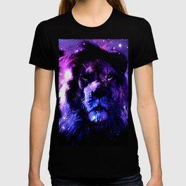 Lion leo purple T-shirt