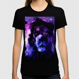 Lion leo purple T-shirt