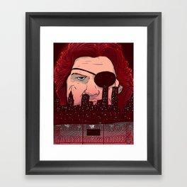 Escape from NY Framed Art Print
