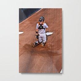 Giants Baseball Metal Print