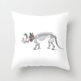 Tri-rosie-tops Throw Pillow