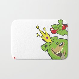 illsurge : King of The Bombing Bears Bath Mat