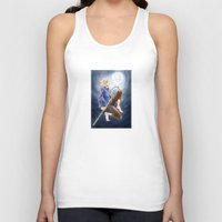 jack frost Tank Tops featuring Jack Frost by SpaceMonolith