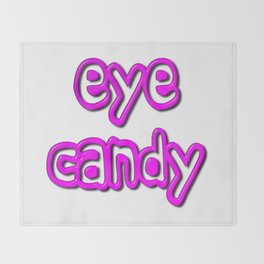 Eye Candy Throw Blanket