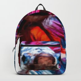 Magnificent Betta Splendens Freshwater Fish Backpack