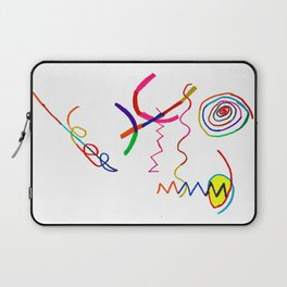 Funky Way Doodle Laptop Sleeve