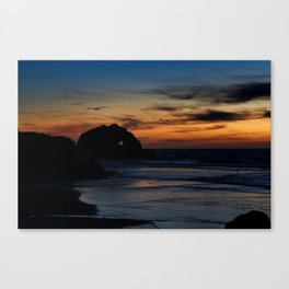 Sutro Heart Canvas Print