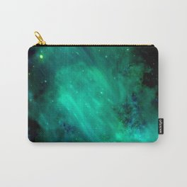 Teal Blue Indigo Sky, Stars, Space, Universe, Photography Carry-All Pouch