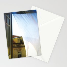 beyond the curtain Stationery Cards