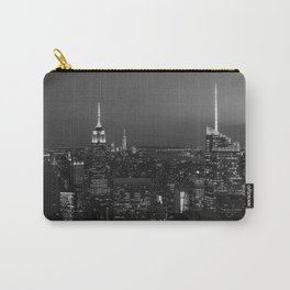 The Empire State and the city. Black & white photography Carry-All Pouch