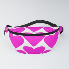 The Pinkest Hearts Fanny Pack