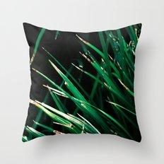Blades Throw Pillow