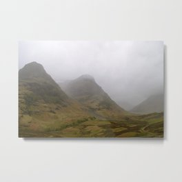 Into the Glen(Coe) part i Metal Print