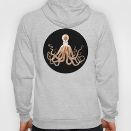 Octopus sea nautical beach coastal Hoody