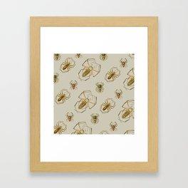 Spiders! Framed Art Print