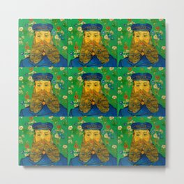 "Vincent van Gogh ""Portrait of Joseph Roulin"" Metal Print"