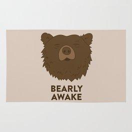 BEARLY AWAKE Rug