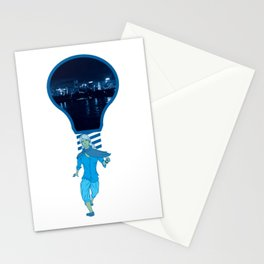 Lights! (at night) Stationery Cards