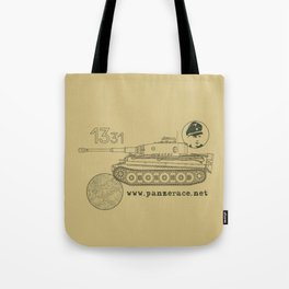 Michael Wittmann Panzer Ace 1331 Kursk Sand/Olive Green Tote Bag