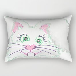 Funny Bunny Bed and Bath Rectangular Pillow