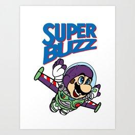 Super Buzz Lightyear Art Print