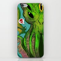 cthulhu iPhone & iPod Skins featuring Cthulhu by Tyler Lederer