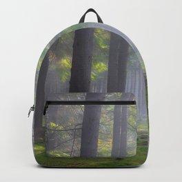 Lights in the forest - Kessock, The Highlands, Scotland Backpack