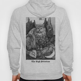 The Empress - Cat Tarot card Hoody