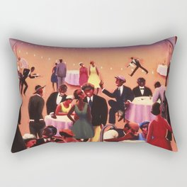 Barbecue by Archibald Motley Rectangular Pillow